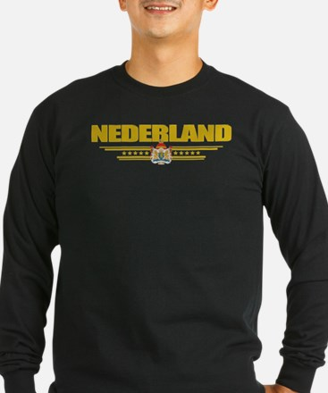 Netherlands (Flag 10) pocket Long Sleeve T-Shirt
