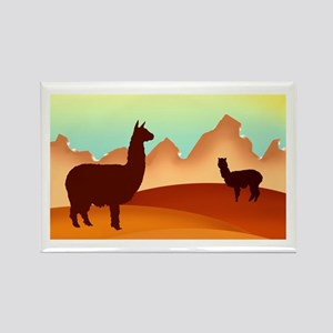 alpaca & llama shop Rectangle Magnet (10 pack)