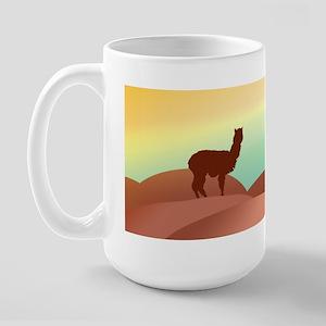 alpaca & llama shop Large Mug
