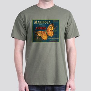 Mariposa Butterfly Fruit Crat Dark T-Shirt