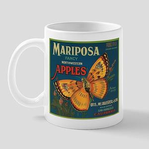 Mariposa Butterfly Fruit Crat Mug