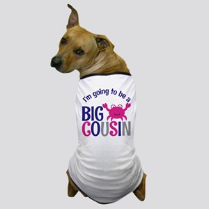 Big Cousin to be Pink Crab Dog T-Shirt