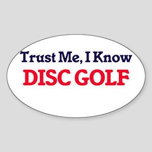 Trust Me, I know Disc Golf Sticker