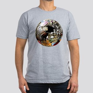 Culture of Spain Soccer Ball Men's Fitted T-Shirt