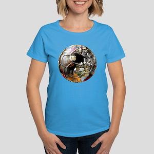 Culture of Spain Soccer Ball Women's Dark T-Shirt