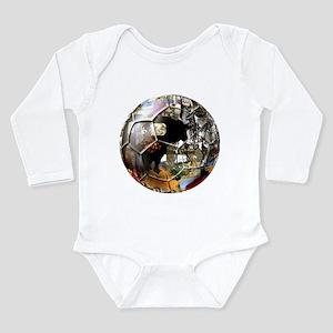 Culture of Spain Soccer Ball Long Sleeve Infant Bo