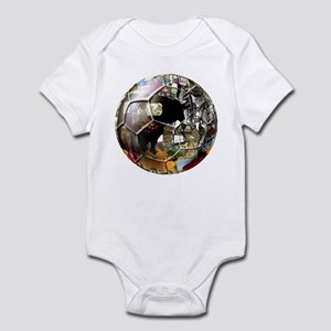 Culture of Spain Soccer Ball Infant Bodysuit