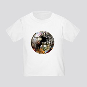 Culture of Spain Soccer Ball Toddler T-Shirt