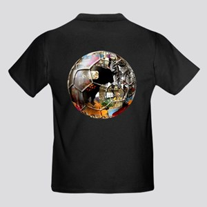 Culture of Spain Soccer Ball Kids Dark T-Shirt