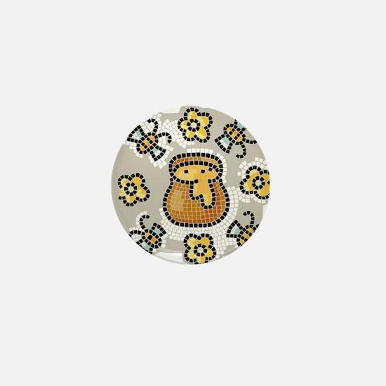 Bees11 Mini Button