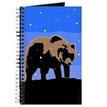 Winter Grizzly Bear Journal