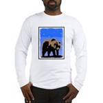 Winter Grizzly Bear Long Sleeve T-Shirt