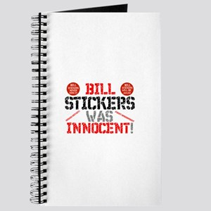 BILL STICKERS WAS INNIOCENT,POSTERS,ADVERT Journal