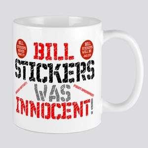 BILL STICKERS WAS INNIOCENT,POSTERS,ADVERTSMB Mugs