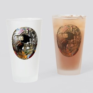 Culture of Spain Soccer Ball Drinking Glass