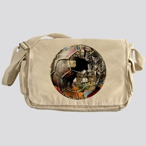 Culture of Spain Soccer Ball Messenger Bag