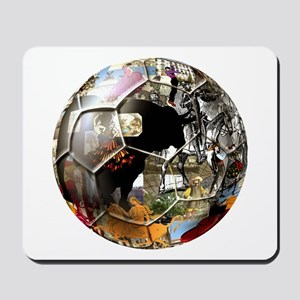 Culture of Spain Soccer Ball Mousepad