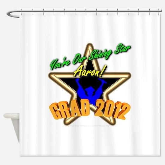 Grad Boys Aaron: 0003 Shower Curtain