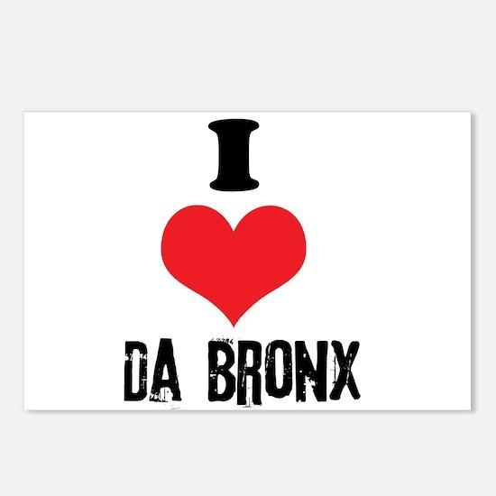 I Heart Da Bronx Postcards (Package of 8)