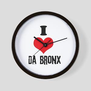 I Heart Da Bronx Wall Clock