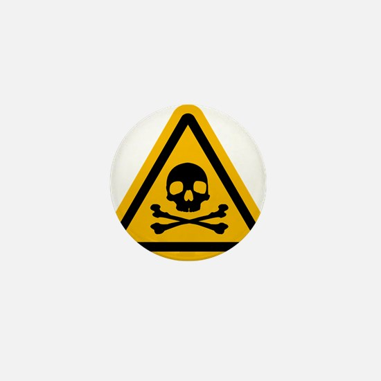 Danger Mini Button