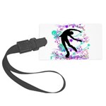 Figure Skater Spin Large Luggage Tag