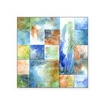Slated Watercolor Square Sticker 3