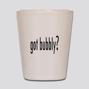 gotBubbly Shot Glass