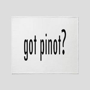 gotPinot Throw Blanket