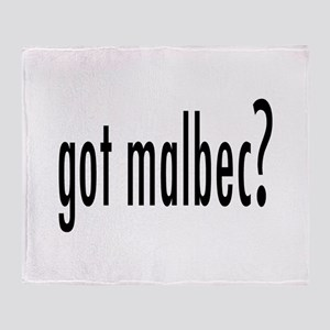 got malbec Throw Blanket