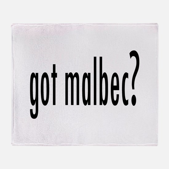 got malbec.png Throw Blanket