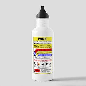HazMatWine Stainless Water Bottle 1.0L