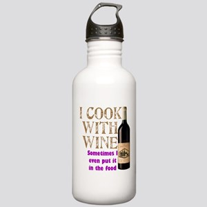ICookWithWine Stainless Water Bottle 1.0L
