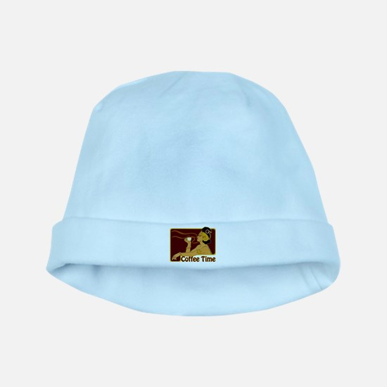 Nouveau Coffee Time baby hat