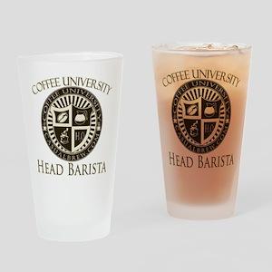 Head Barista Drinking Glass