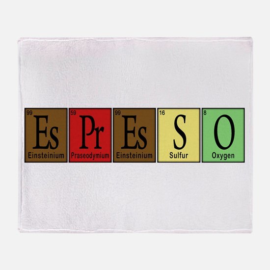 Periodic-BOCK.png Throw Blanket