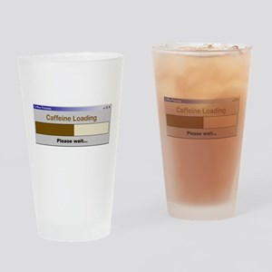 CaffeineLoading Drinking Glass