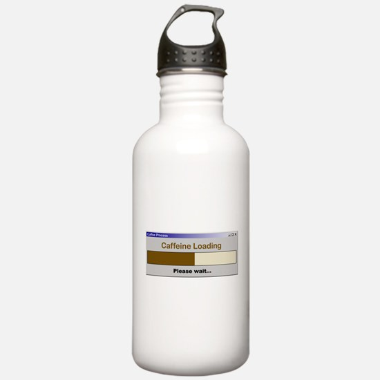 CaffeineLoading.PNG Sports Water Bottle