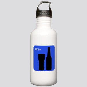 iBrewBlue Stainless Water Bottle 1.0L