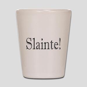 SlainteDark Shot Glass