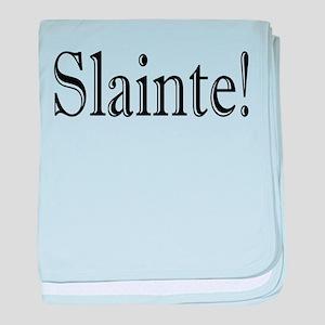 SlainteDark baby blanket