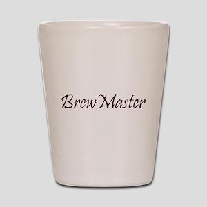BrewMasterFilledBrown Shot Glass