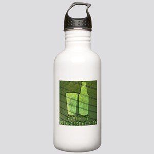 3-CropCircle Stainless Water Bottle 1.0L