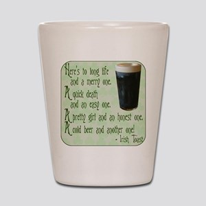 IrishToast Shot Glass