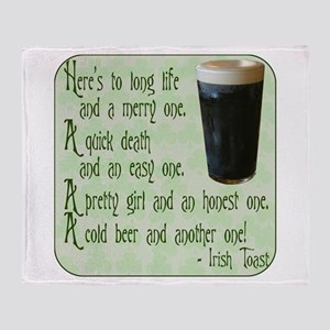 IrishToast Throw Blanket
