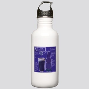 BeerBluePrint Stainless Water Bottle 1.0L