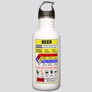 HazMatBeer2 Stainless Water Bottle 1.0L