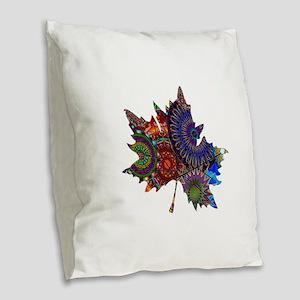 REVEALING THE PATH Burlap Throw Pillow