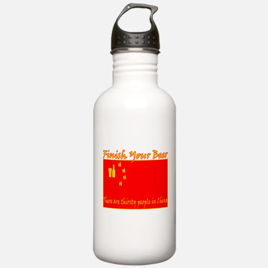 Unique Chinese people Water Bottle