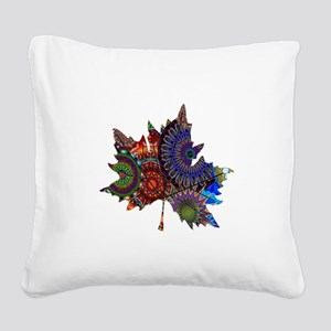 REVEALING THE PATH Square Canvas Pillow